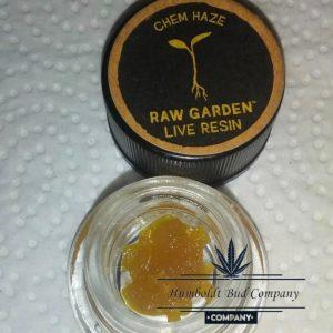 raw garden live resin