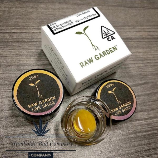 raw garden extracts